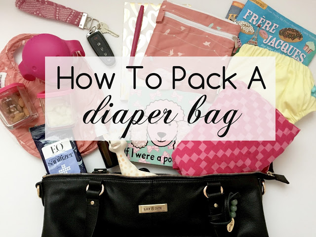 Motherhood | How To Pack A Diaper Bag