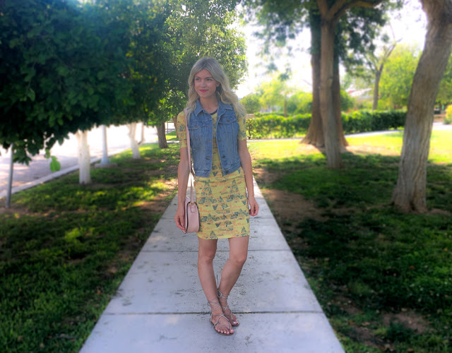 Three Ways To Style Lularoe 'Julia' Dress by fashion blogger Larissa from Living in Color
