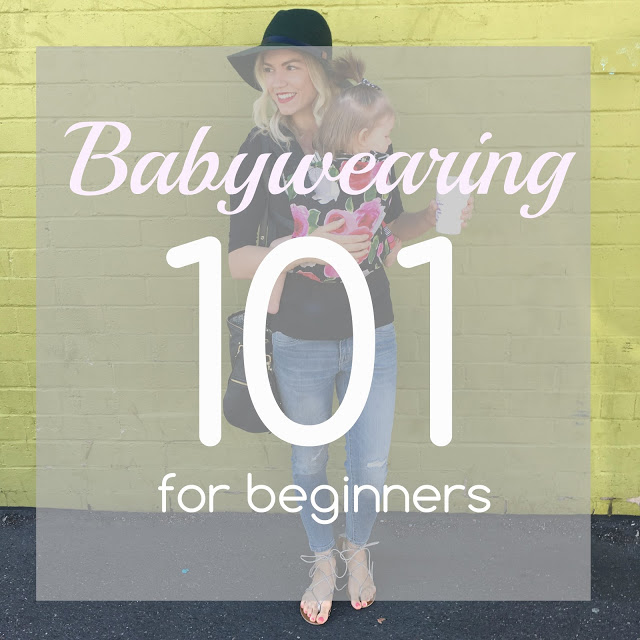 babywearing 101 for beginners by lifestyle blogger Larissa from Living in Color