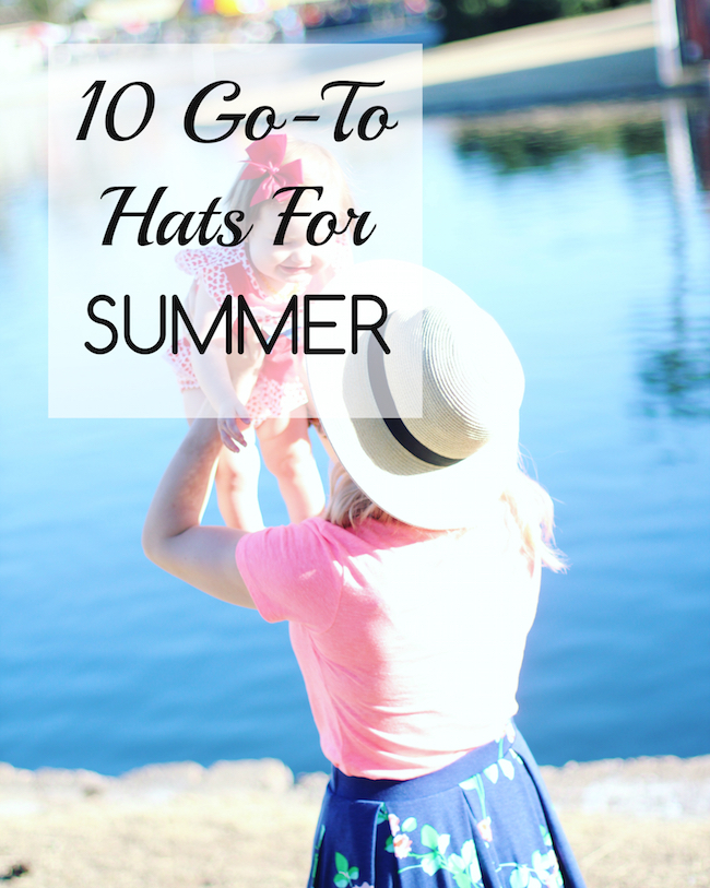 10 Go-To Hats For Summer