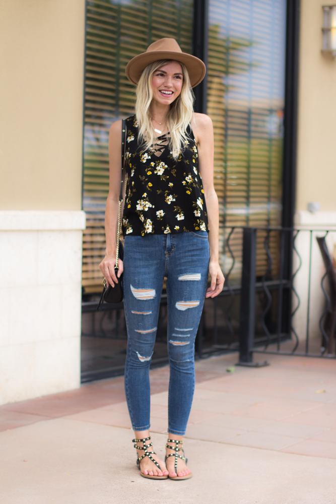 Spotlight Fashion Link-Up | Floral