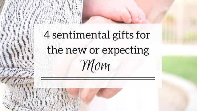 4 Baby Shower Gift Ideas for the Sentimental Mom by lifestyle blogger Elle of Living in Color