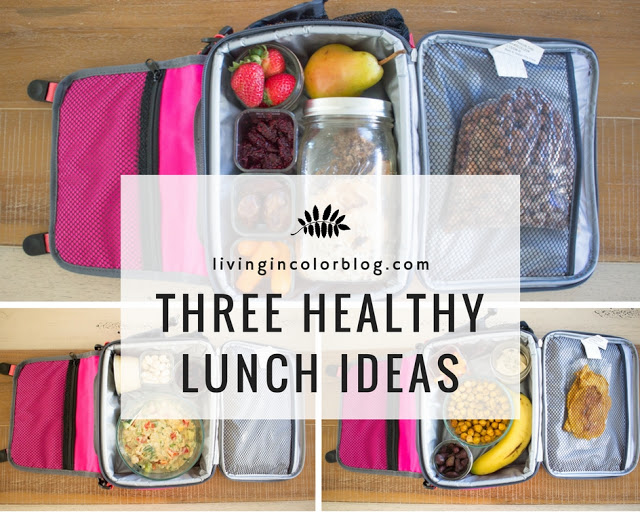 Eating Healthy On The Go: 3 Lunch Ideas You'll Want to Try by lifestyle blogger Elle of Living in Color