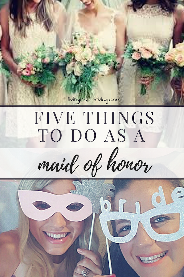 5 Things To Do When You're The MOH