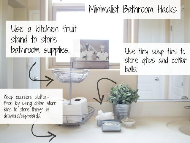 Home   Minimalist Bathroom Decorating Hacks
