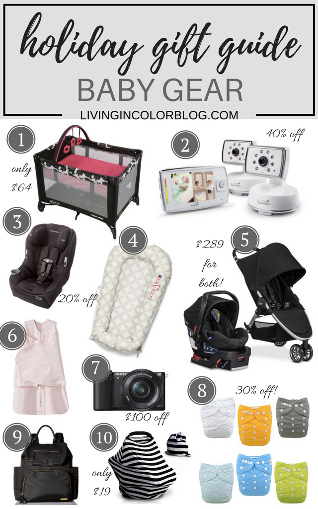Holiday Gift Guide 2016 | Baby Gear