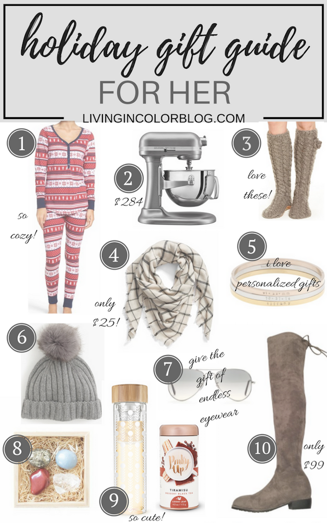 Holiday Gift Guide 2016 | Gifts For Her
