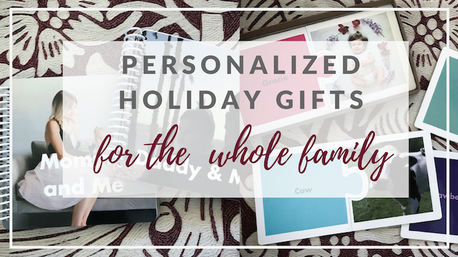 Holiday Gift Guide 2016 | Personalized Gifts For The Family + VIDEO
