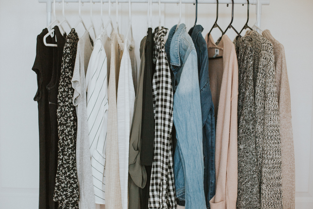 Capsule Wardrobe Challenge Intro + My Capsule Items