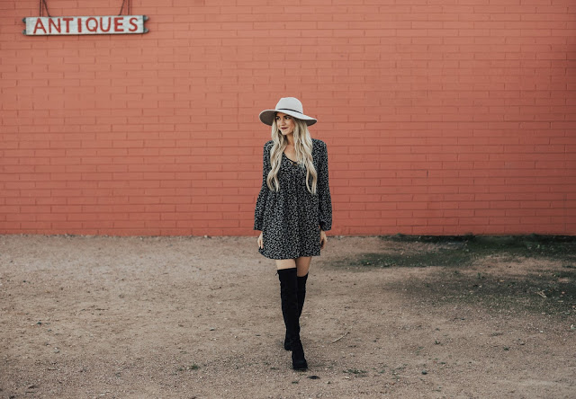 $99 Over The Knee Boots (Lowland Dupe) + A Link-Up