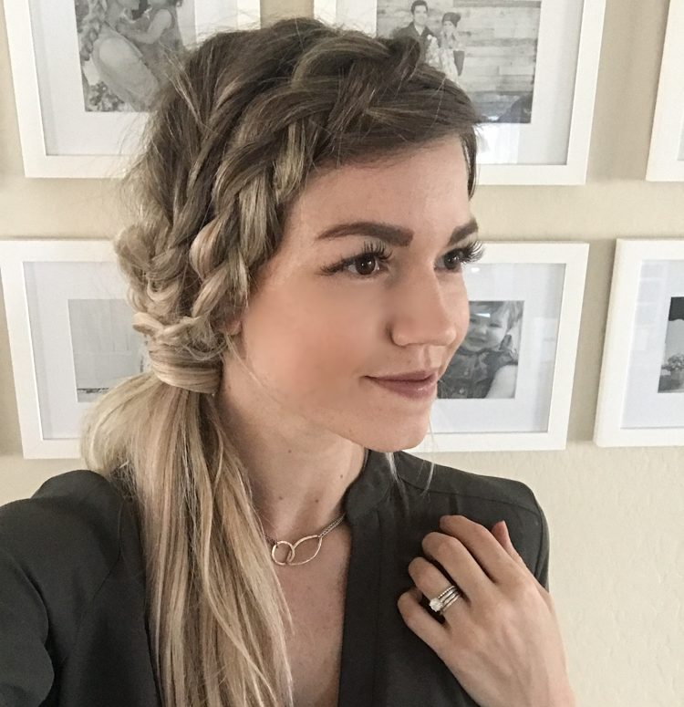 Hair Tutorial | Double Side Braid Three Ways