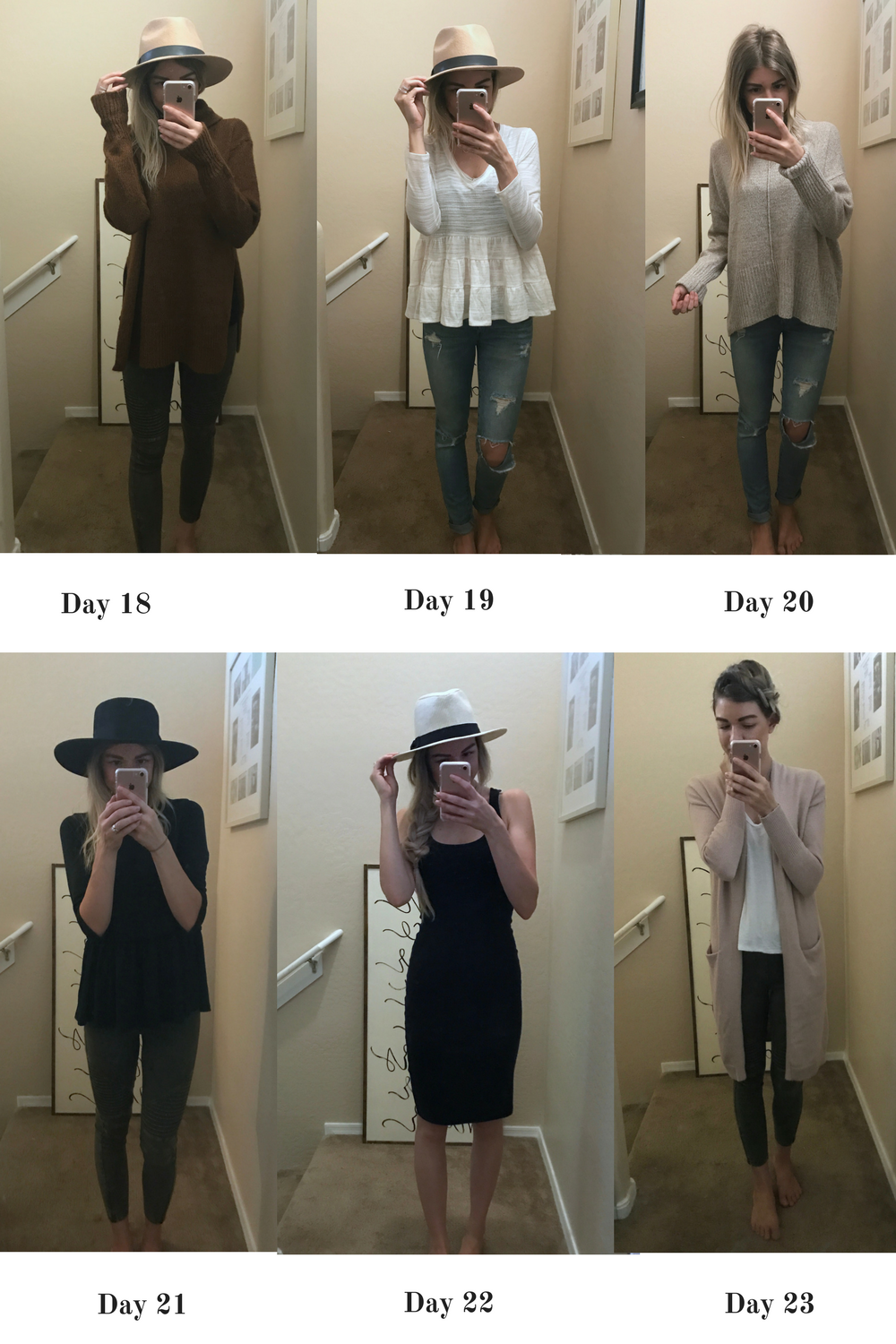 Lifestyle and fashion blogger Larissa of Living in Color shares a February Capsule Wardrobe. You can check out weeks 4 and 5 now.