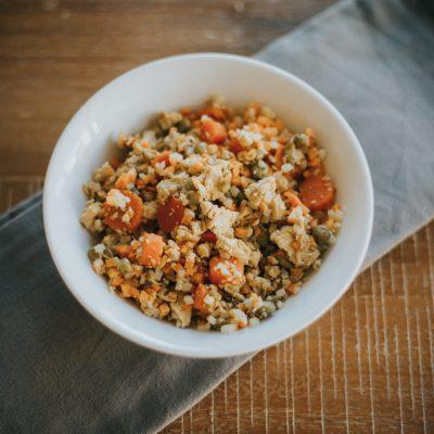 Healthy Cauliflower Fried Rice in Under 30 Minutes