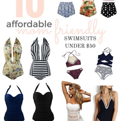 10 Affordable Mom-Friendly Swimsuits