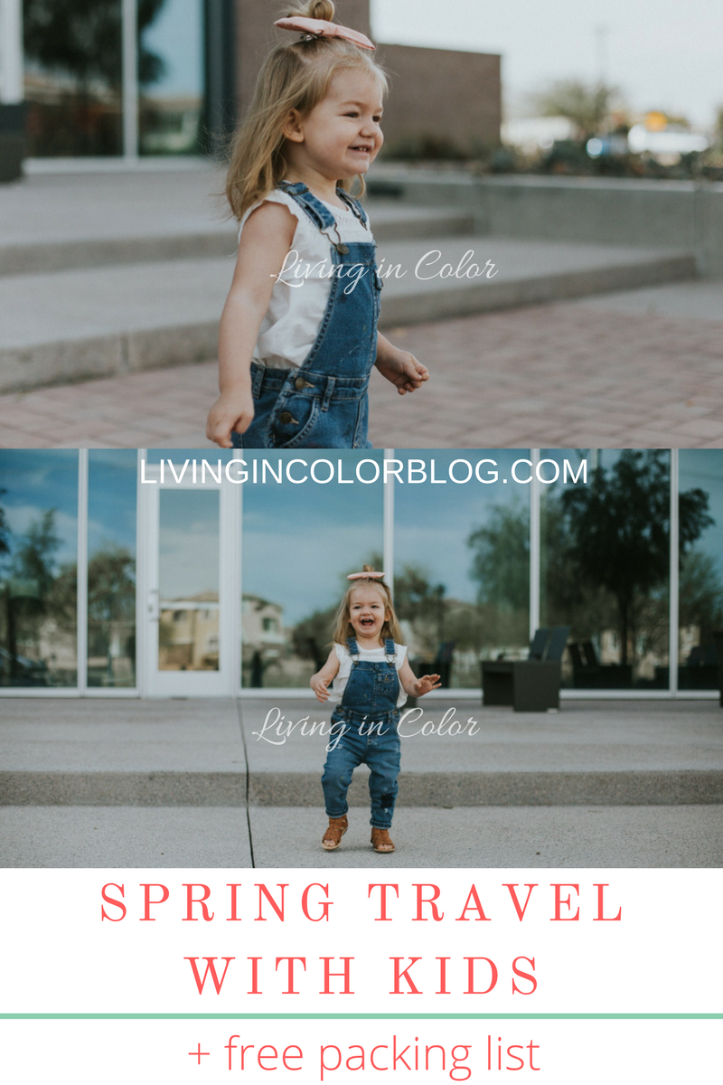 A comprehensive packing list for moms on what to pack for a toddler on a vacation and packing tips for traveling with children.