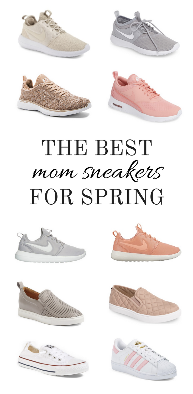 Larissa of Living in Color shares the best affordable sneakers with options for moms who don't want to sacrifice style for comfort.