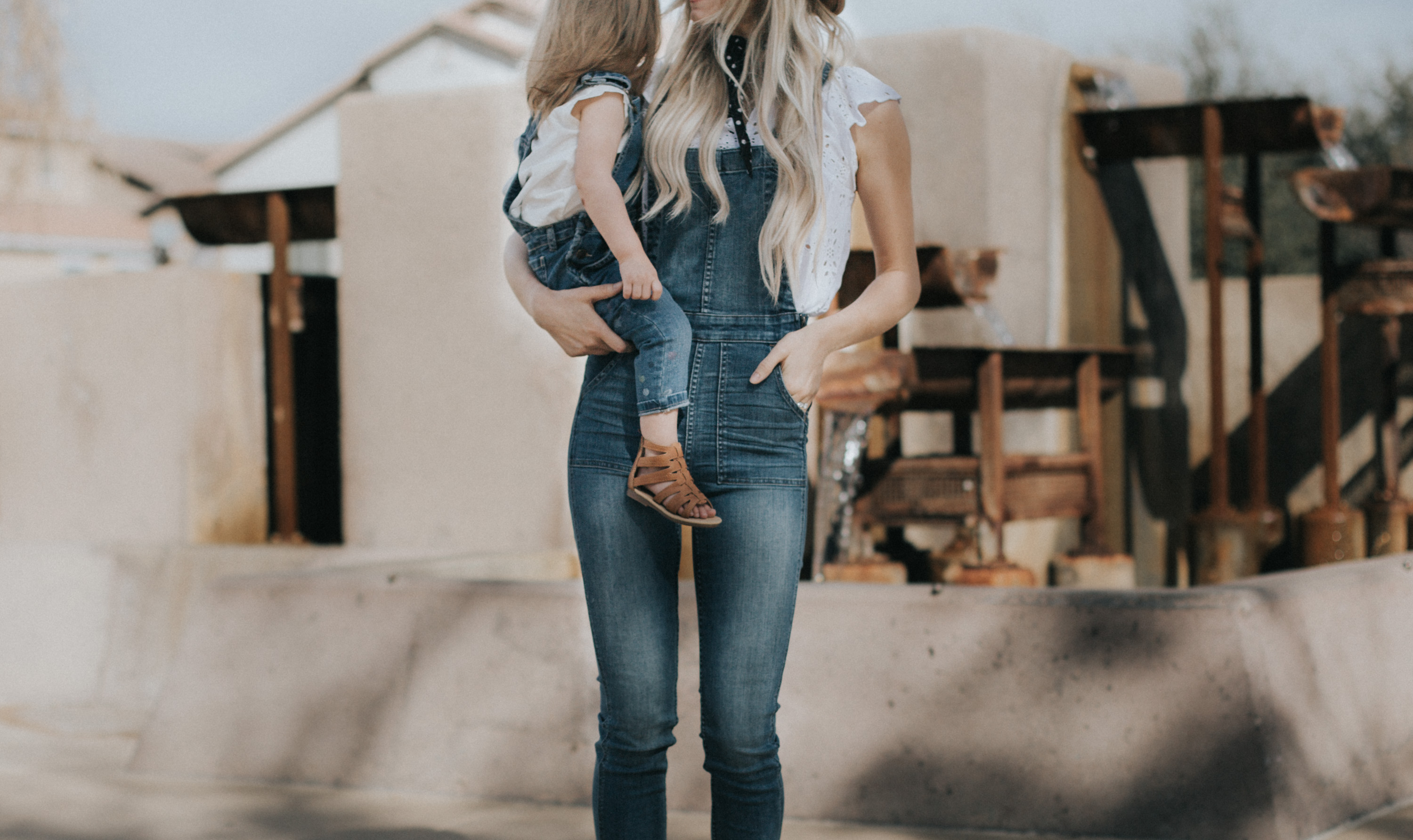 How to Style Overalls + Link-Up