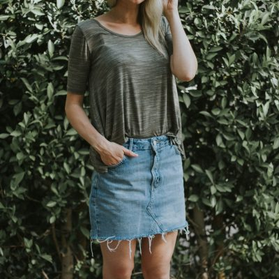 Five Reasons to Buy a Denim Skirt + Link-Up
