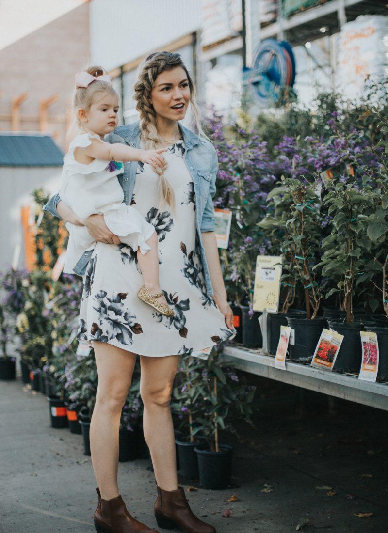 Favorite Floral Dresses for Summer + Link-up