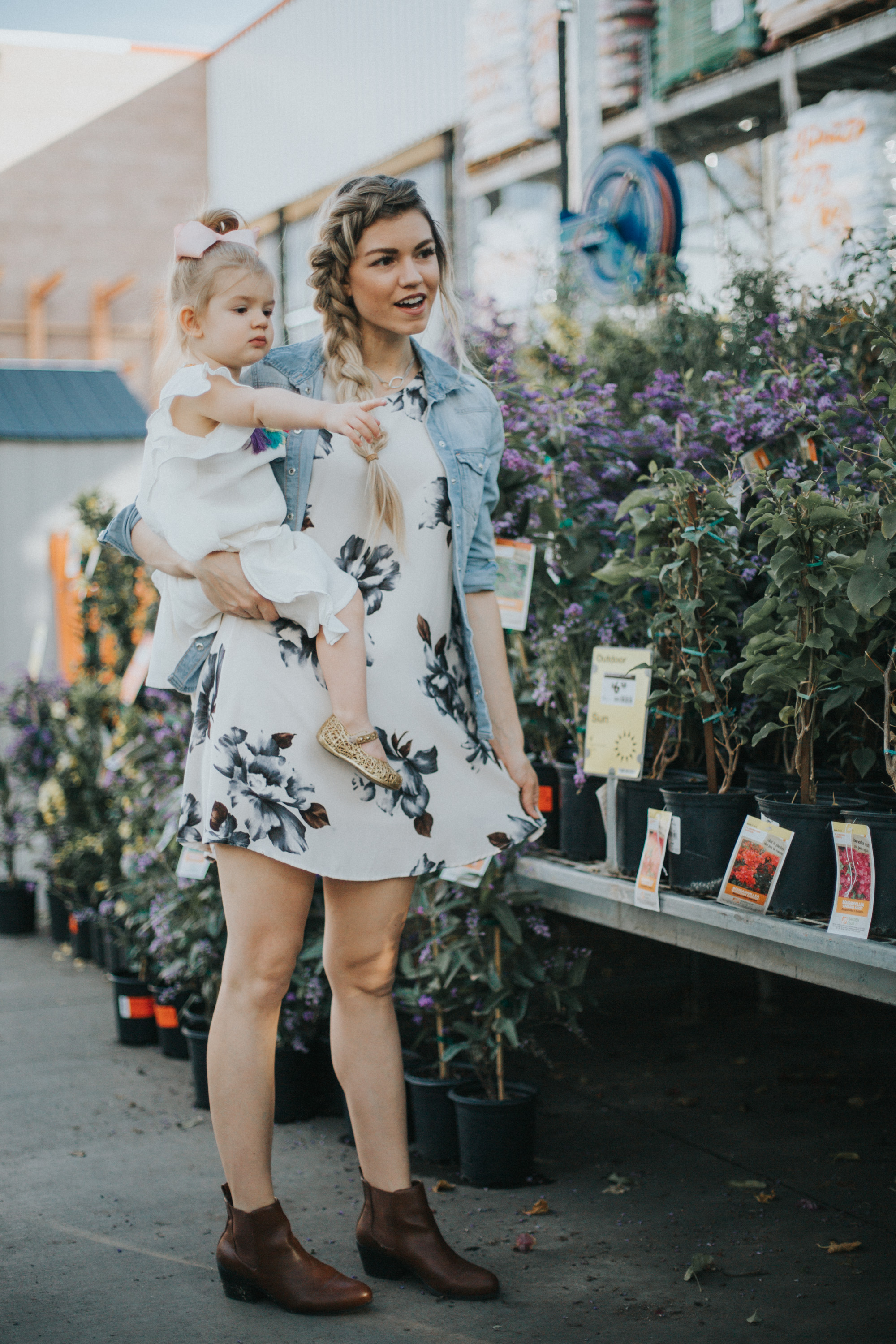 Favorite Floral Dresses for Summer + Link-up