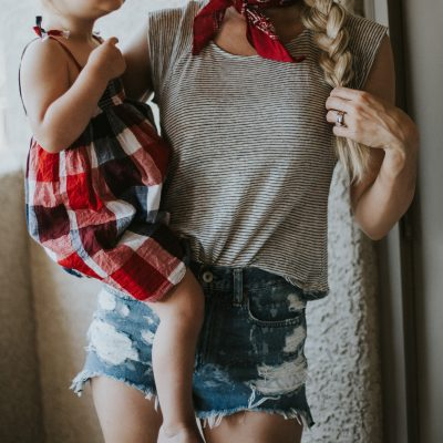 Mommy and Me Fourth of July Style + Link-up