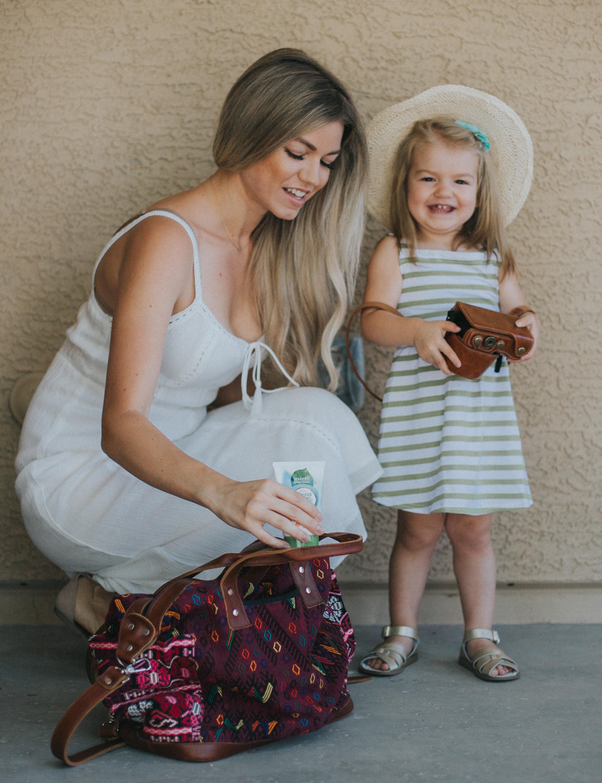 Summer Diaper Bag Essentials For The Natural Mom
