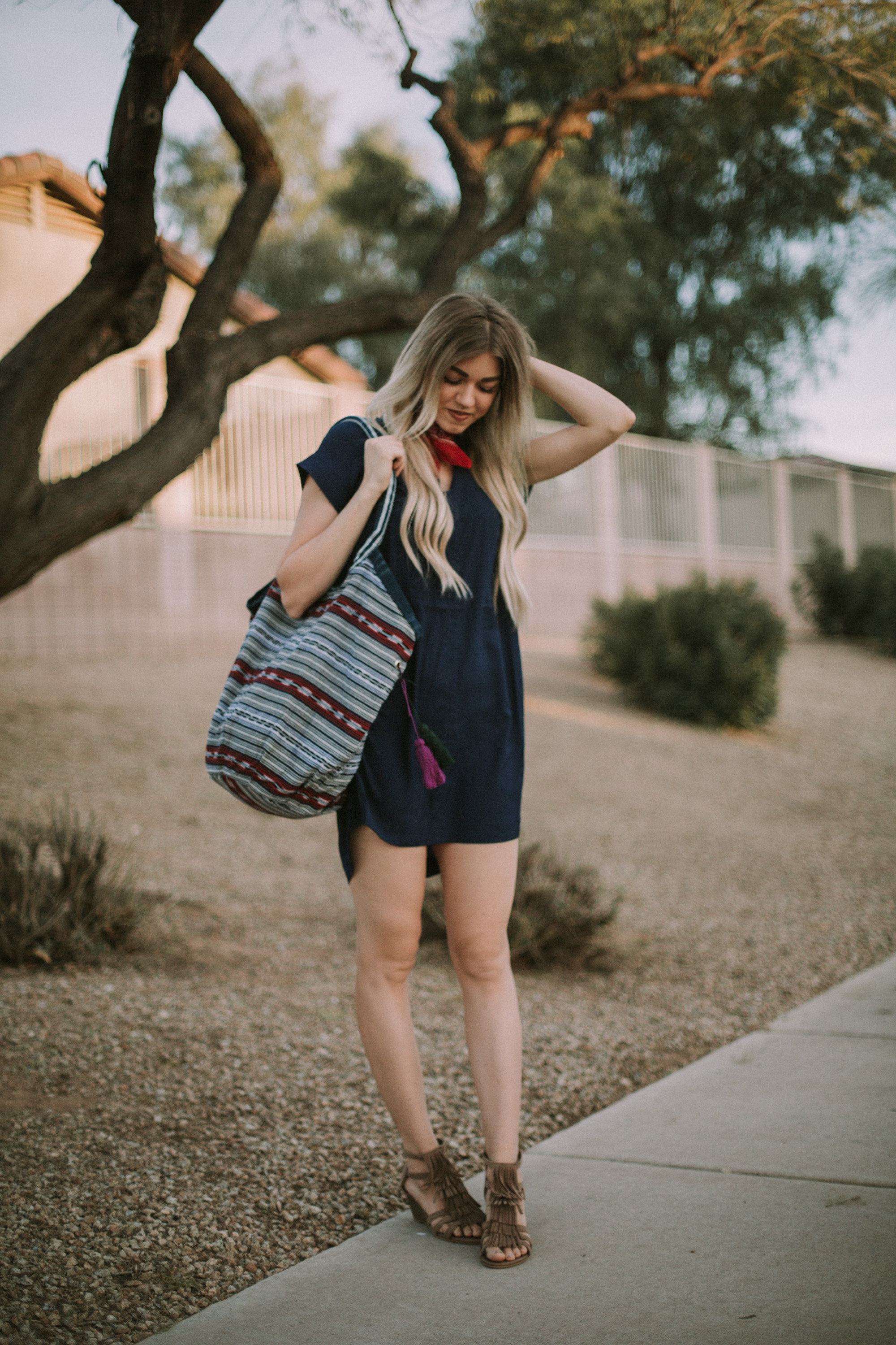 Red, White, and Blue Outfit + Link-up