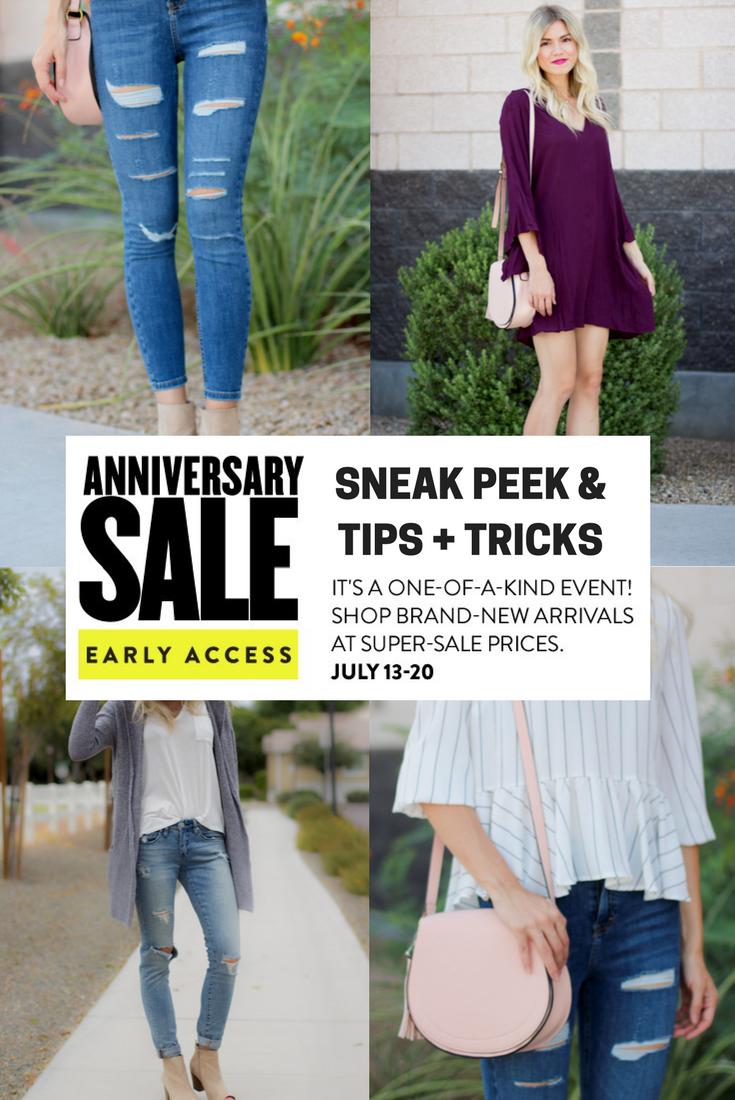 Nordstrom Anniversary Sale 2017 Sneak Peek + Tips & Tricks