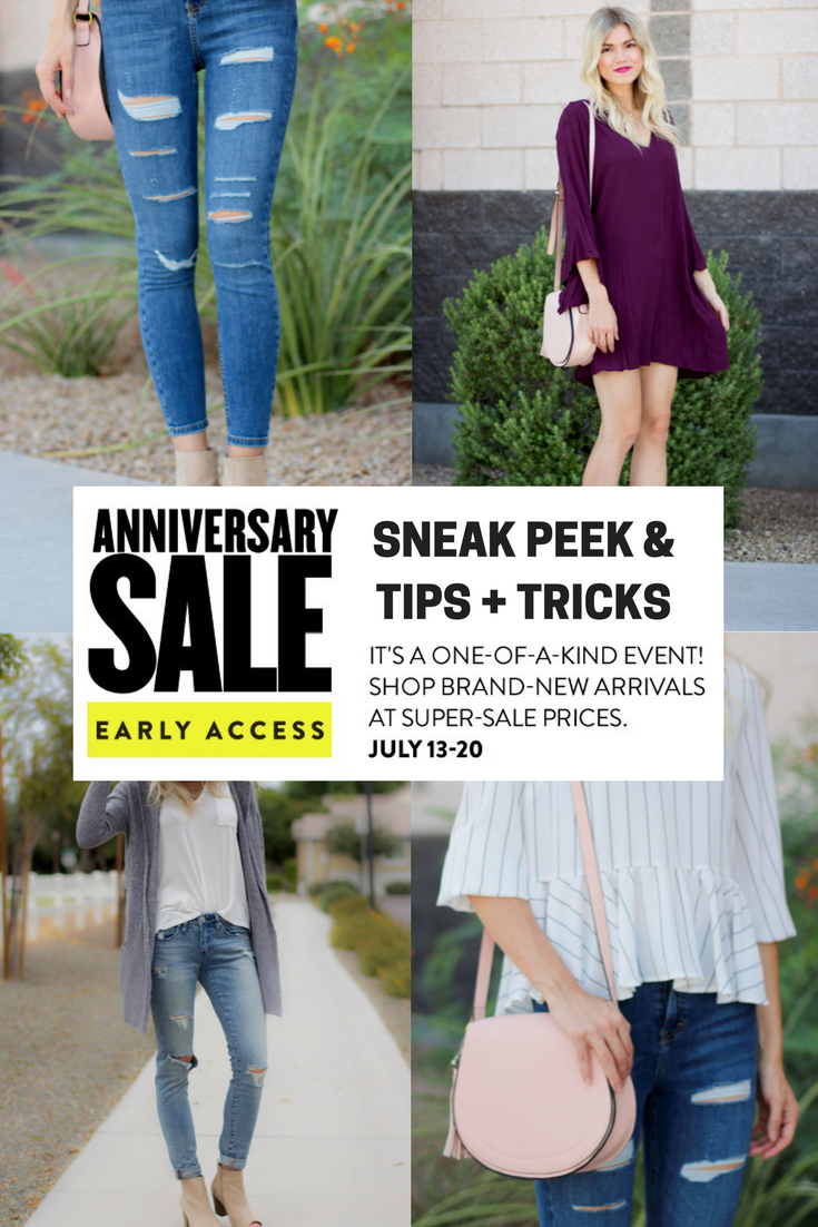 Nordstrom Anniversary Sale 2017 Sneak Peek + Tips & Tricks