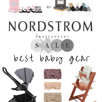 Nordstrom Anniversary Sale 2017 Baby Gear Edition