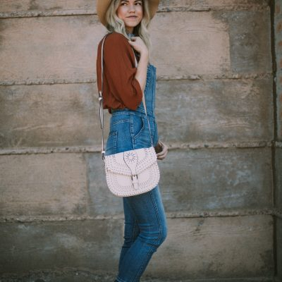 Overalls Worn Two Ways + A Link-Up