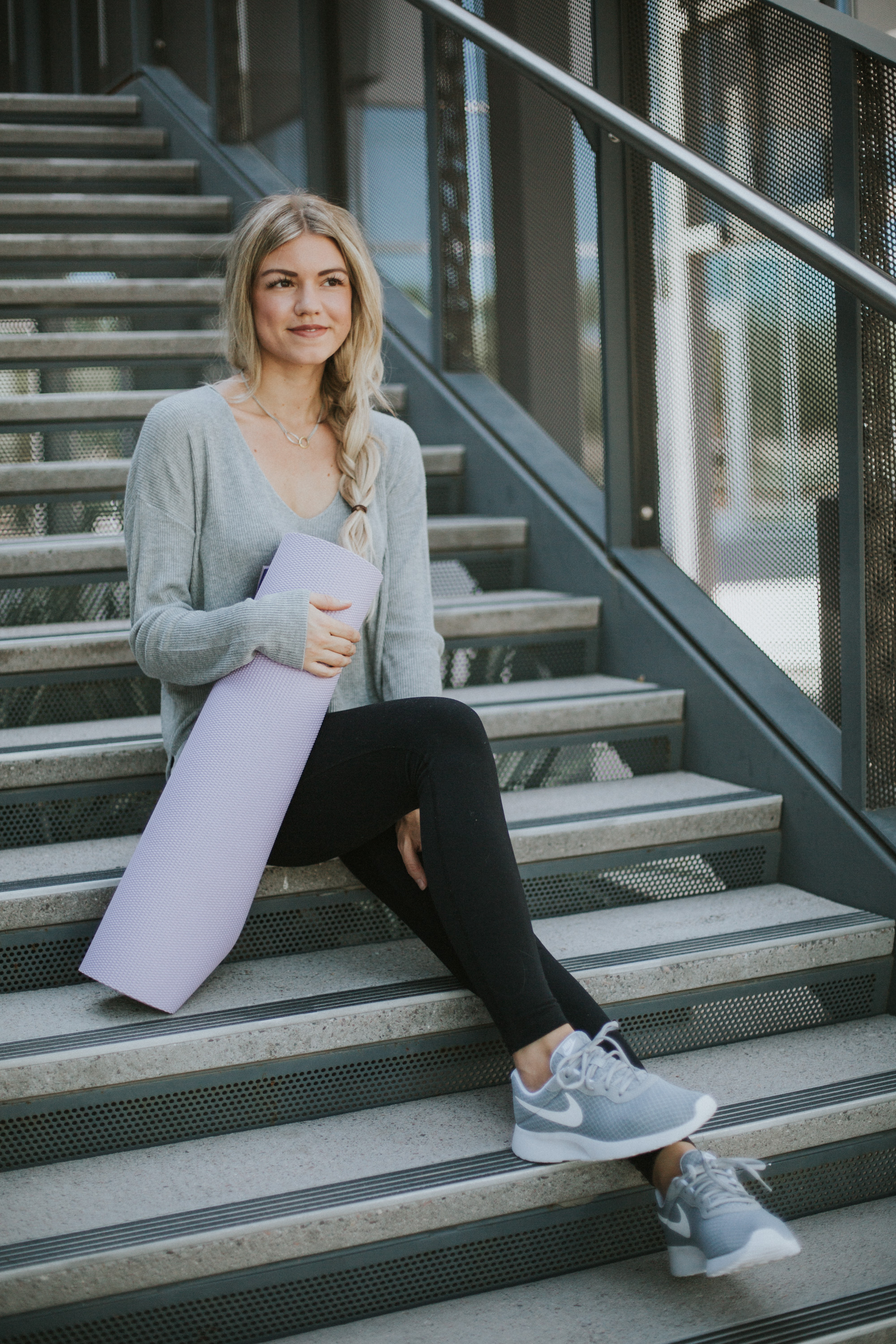 Fall Athleisure Outfit + A Link-Up
