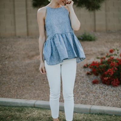 How to Style White Jeans + Link-up