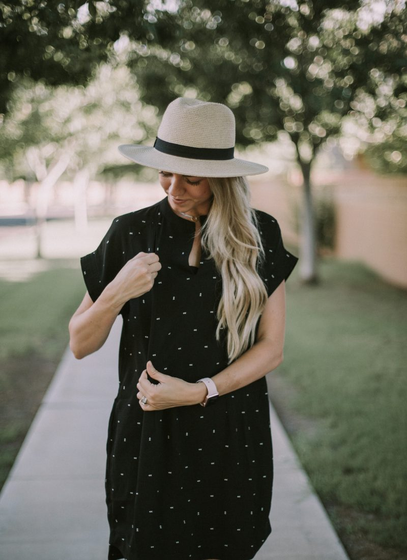 The One Nursing Dress You Need in Your Closet + Link-Up