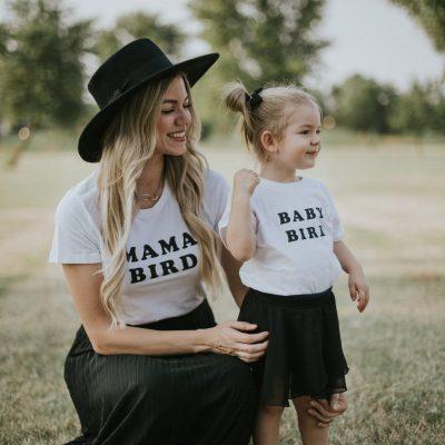 Mama Bird + Baby Bird(s)