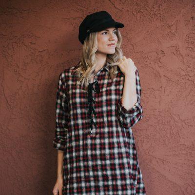 Plaid Dress Under $60 + Link-Up