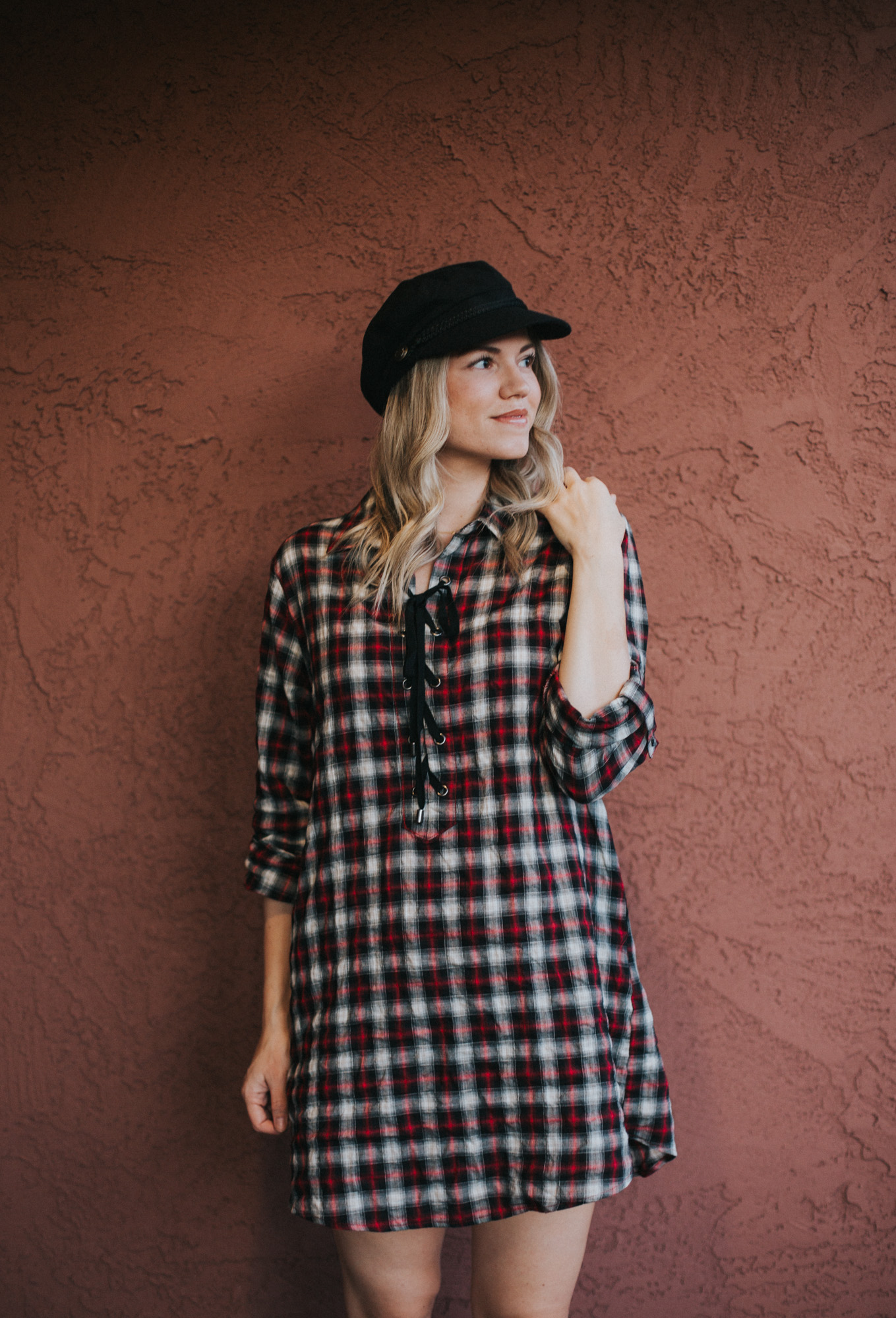 Plaid Dress Under $60 + Link-Up