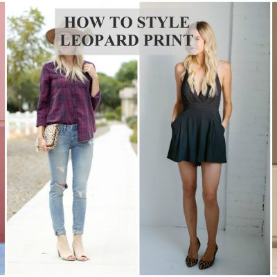 How to Style Leopard Print (And Still Look Classy) + Link-up