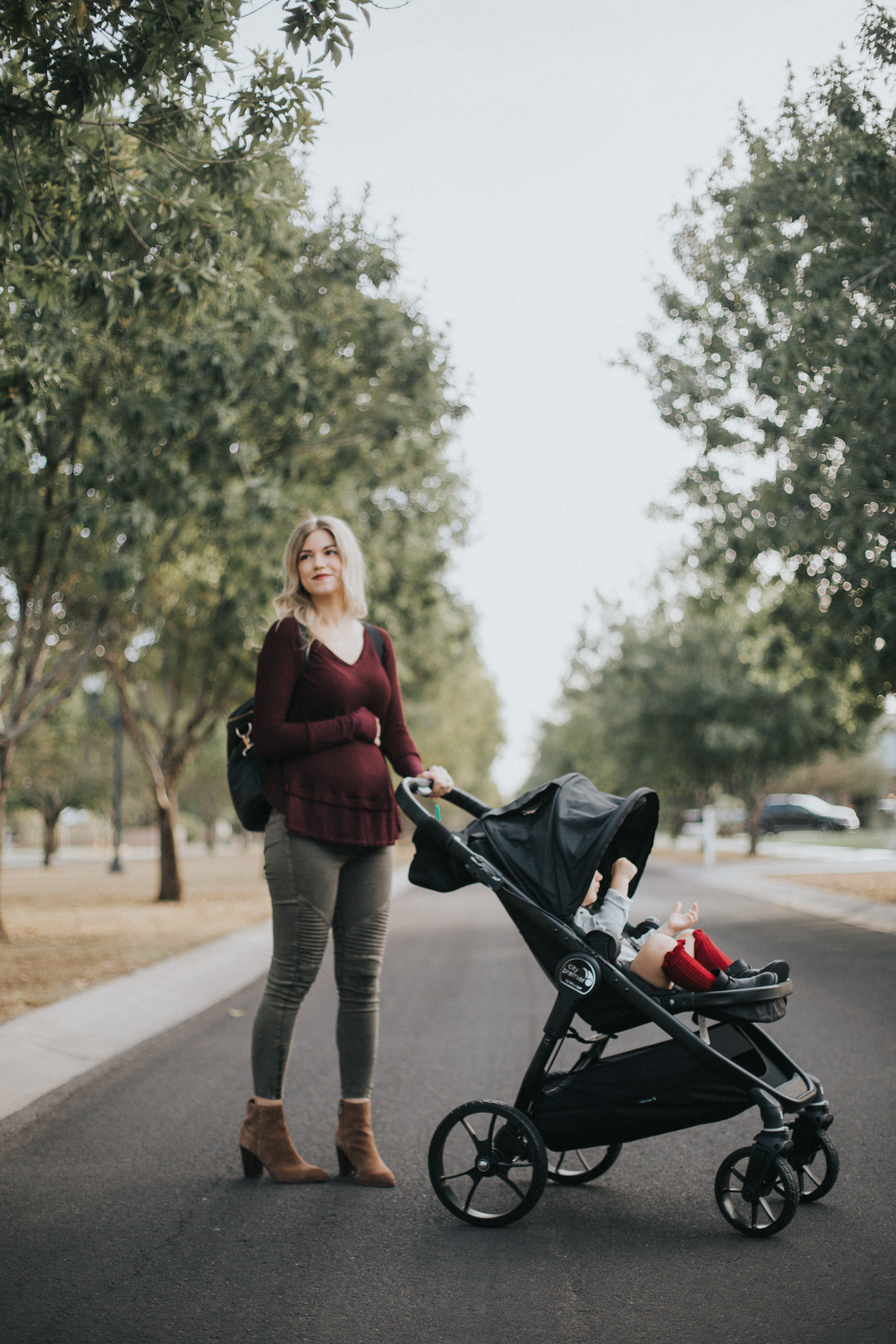 Baby Jogger City Premier Stroller Review From A Pregnant