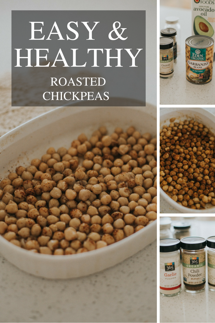 Easy Roasted Chickpeas Recipe Living In Color