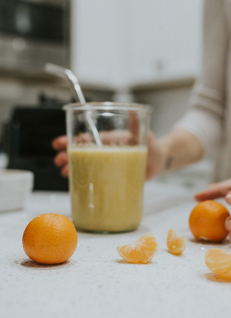 Easy Immunity-Boosting Smoothie for the Whole Family
