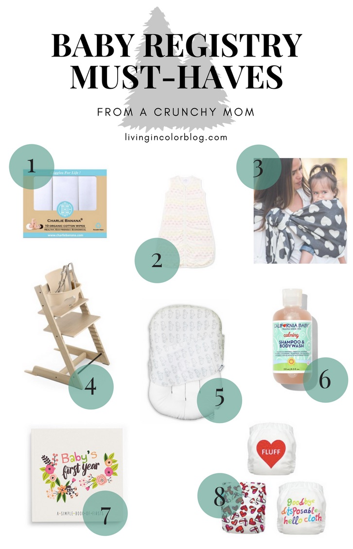 Baby Registry Must-Haves (From a Crunchy Mom's Perspective) - Living