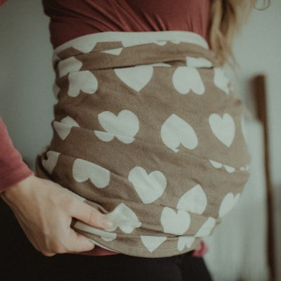 How to Wrap Your Pregnant Belly | Ring Sling