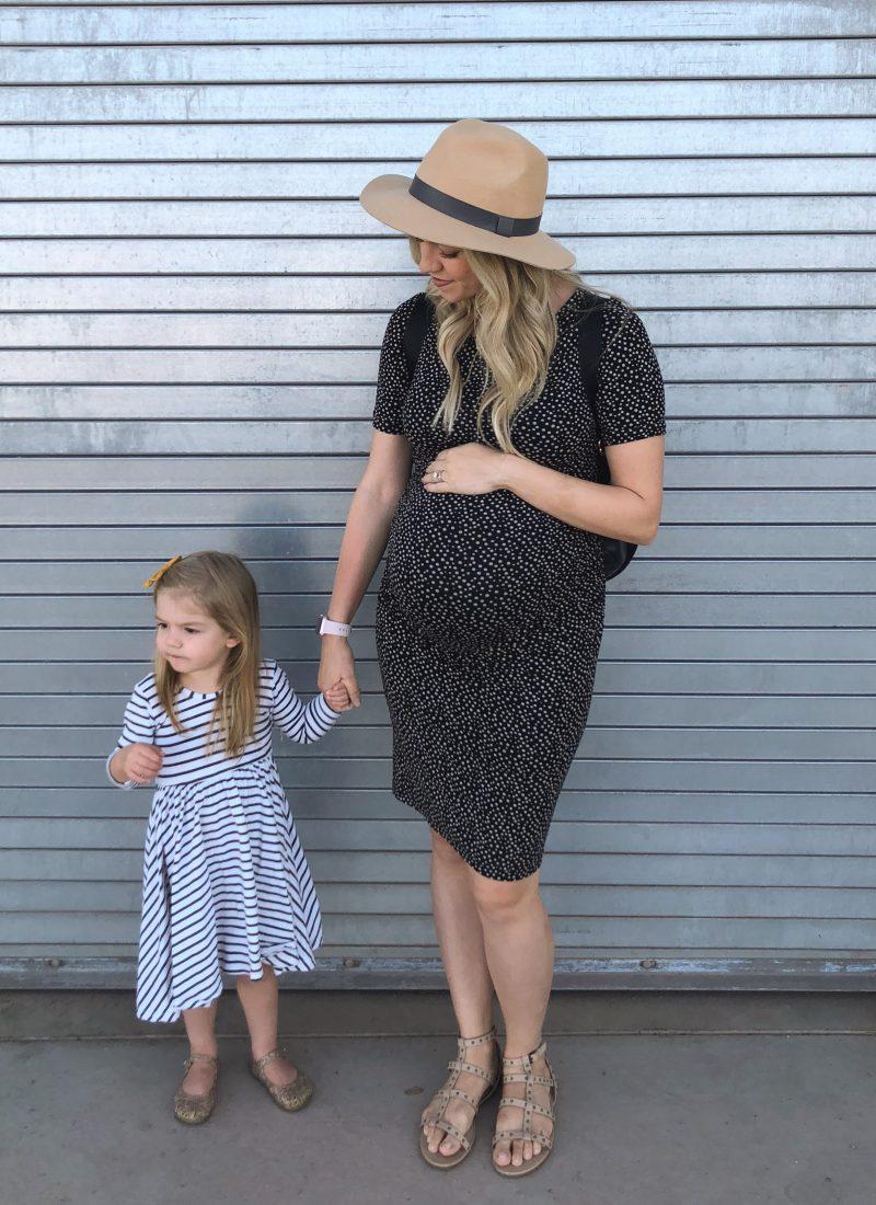 Isabella Oliver Maternity Dress + Link-up