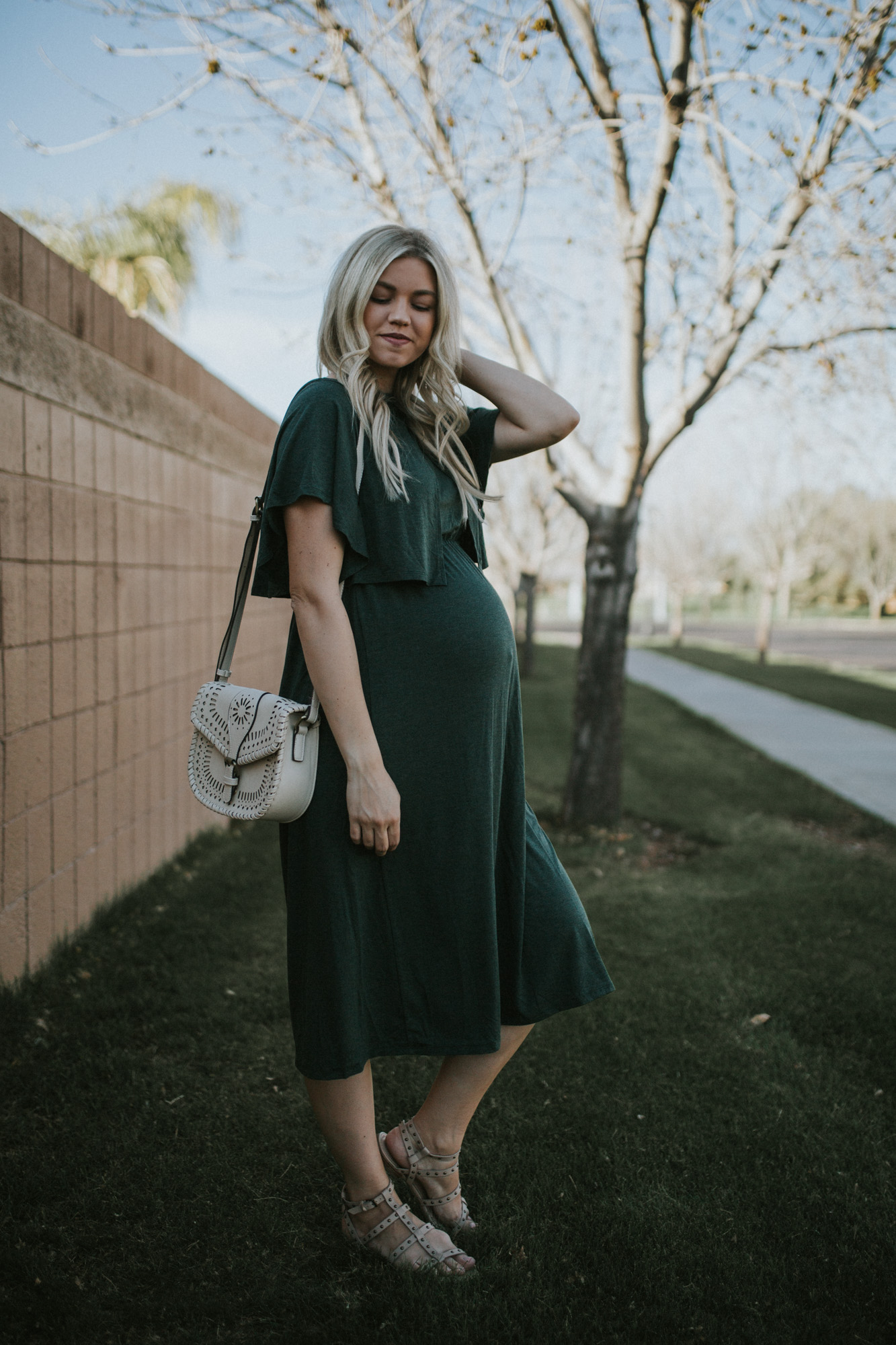 Maternity-Friendly Valentine's Day Style + Link-up