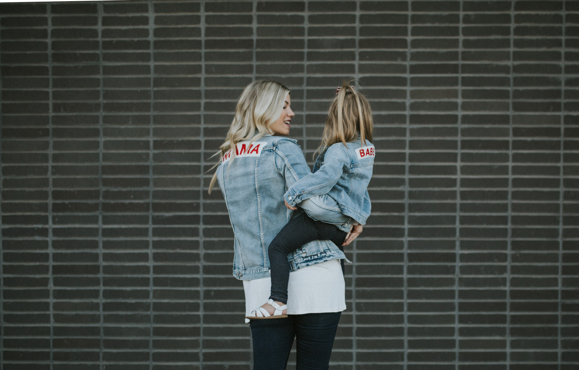 Mama + Babe Denim Jackets