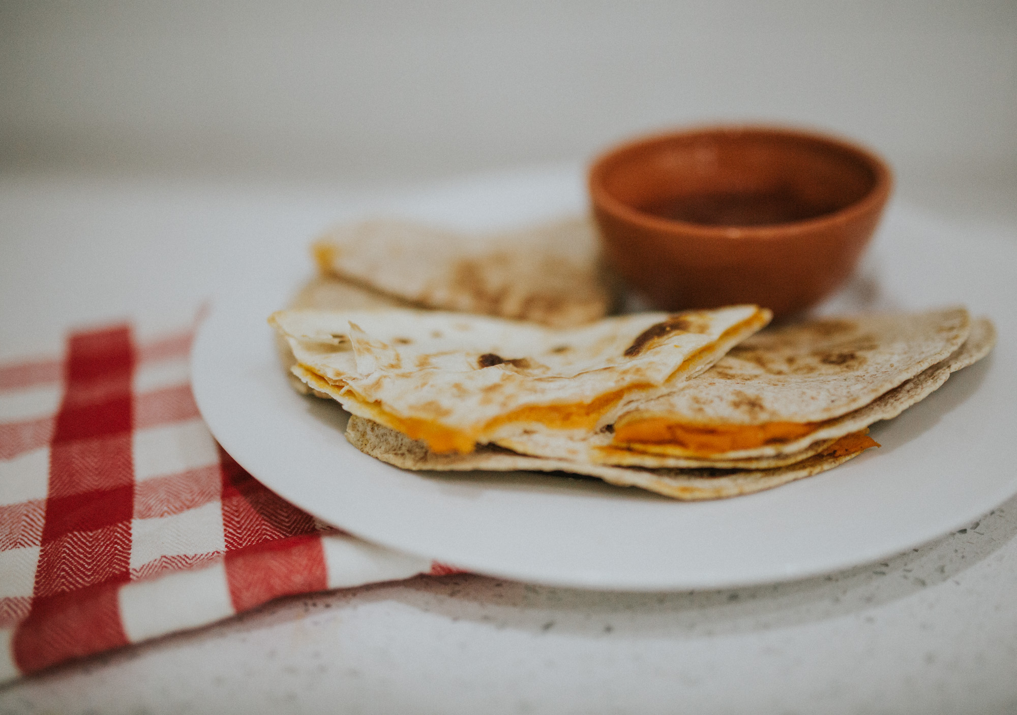 Healthy Vegan Quesadilla Cheese