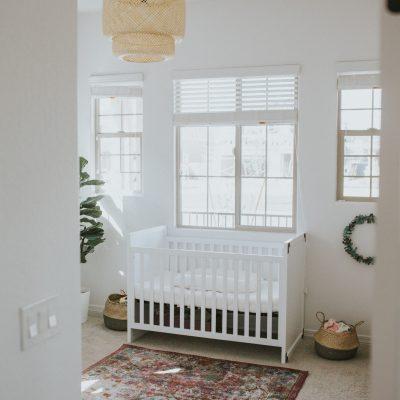 Bohemian Nursery Reveal