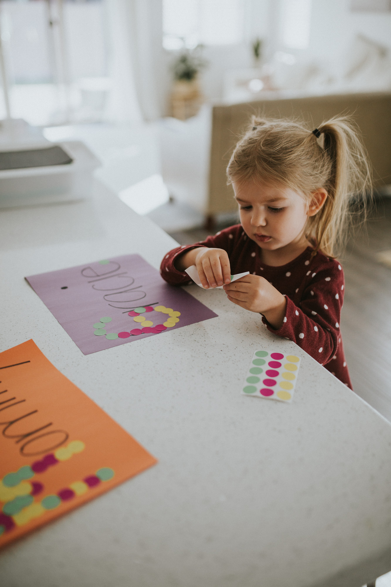 Three Easy Letter Games for Toddlers