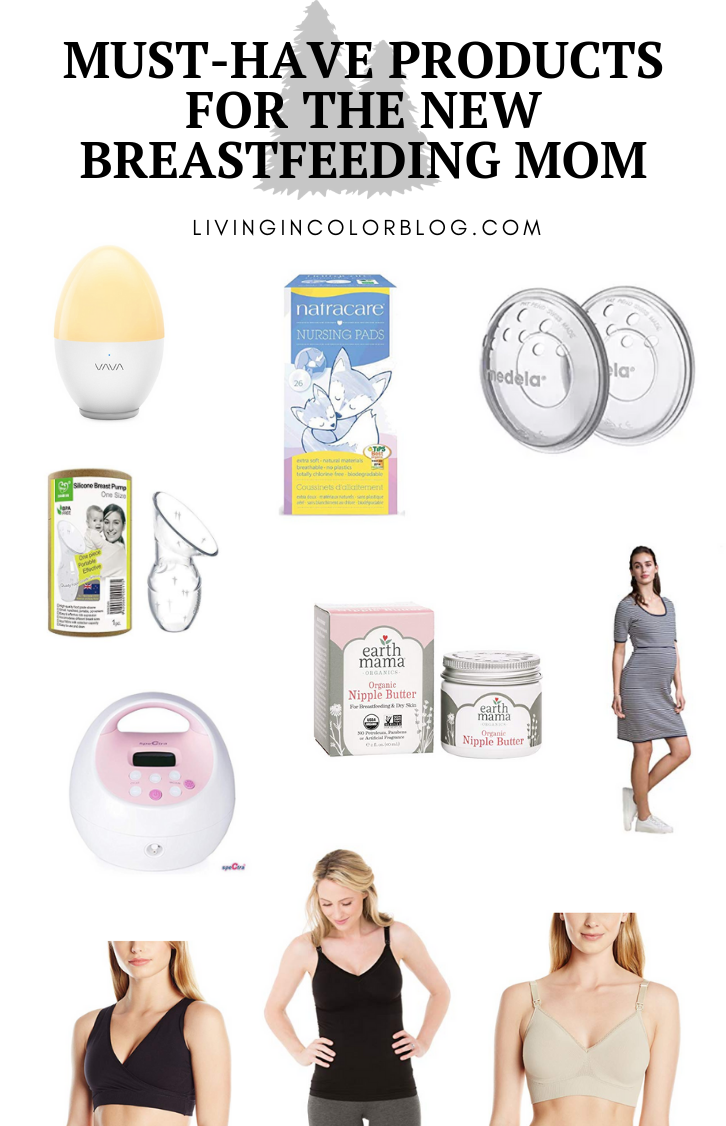 Must-Have Products for The New Breastfeeding Mom